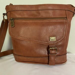 B.O.C. Brown Amherst Crossbody Bag